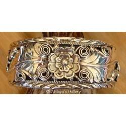 Bracelet navajo en argent.